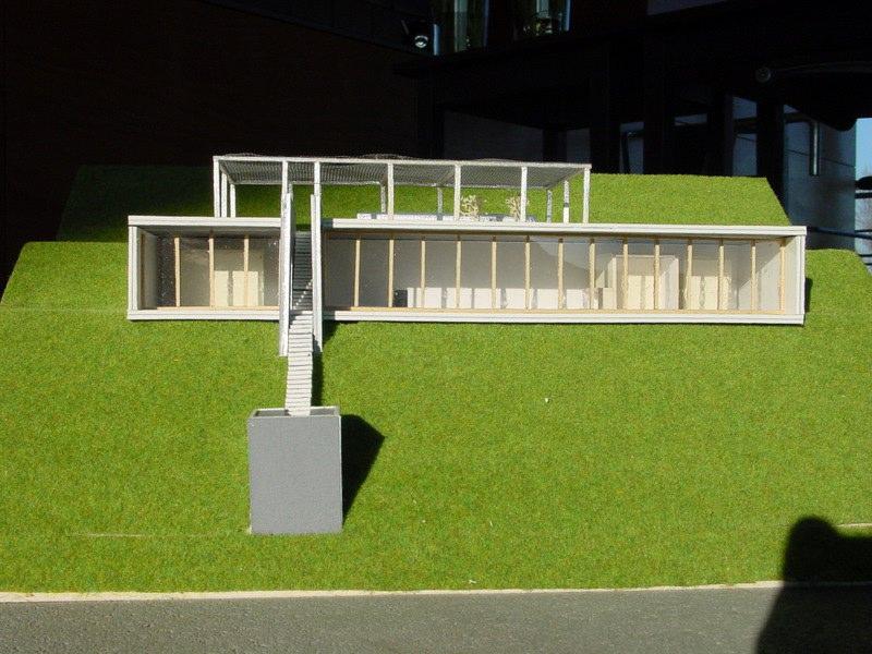 maquette villa te rhodos3